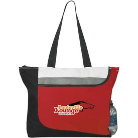 Promotional Zippered Convention Tote Bag
