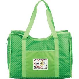 Zippered Organizer Tote Bag