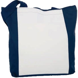 Zippered Tote with Your Slogan