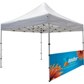 Compact Tent Half Wall Kits (2 Locations, Full Color Imprint)