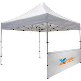 Compact Tent Half Wall Kits (1 Location, Black and White)