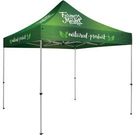 Deluxe Tent Kits (9.875 Ft. x 11.5208 Ft. x 9.875 Ft., 1 Location, Full Color Imprint)