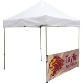 "Deluxe Tent Half Wall Kits (8.0417 Ft. x 38"", 1 Location, Full Color Imprint)"
