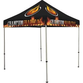 Deluxe Tent Kits (8 Ft. x 10.8333 Ft. x 8 Ft., 1 Location, Full Color Imprint)