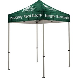 "Deluxe Tent Kits (72"" x 10.125 Ft. x 72"", 1 Location, Full Color Imprint)"