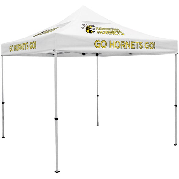 White Deluxe Tent Kit with Vented Canopy