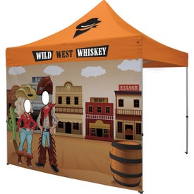 Face Cutout Tent Walls