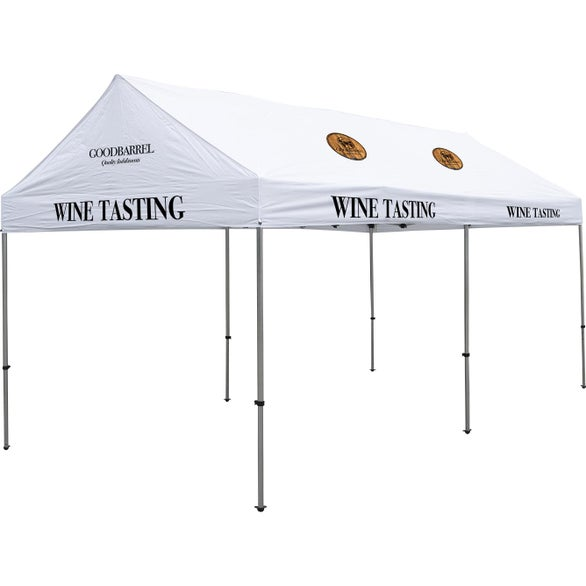 White Premium Gable Tent Kit