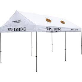Premium Gable Tent Kits (19.5417 Ft. x 10.9792 Ft. x 9.8542 Ft., 9 Locations, White)