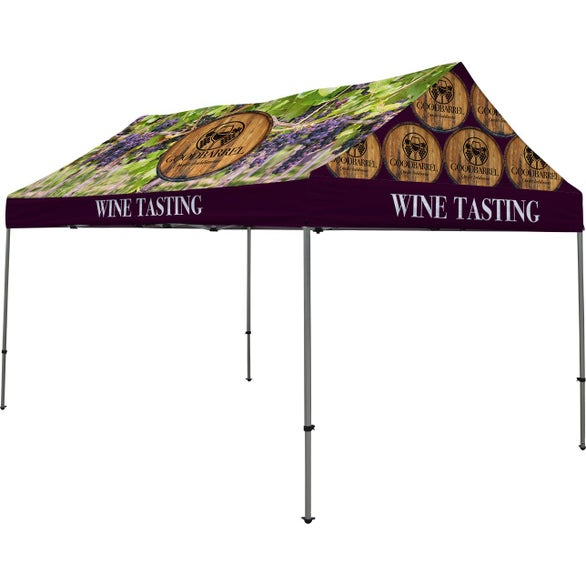 Full Color Imprint Premium Gable Tent Kit