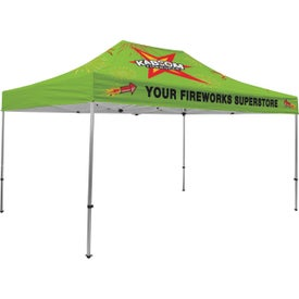Premium Tent Kits (14.625 Ft. x 11.6042 Ft. x 10.5625 Ft., 1 Location, Full Color Imprint)