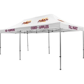 Premium Tent Kits (19.5417 Ft. x 11.6042 Ft. x 10.5625 Ft., 6 Locations, White)