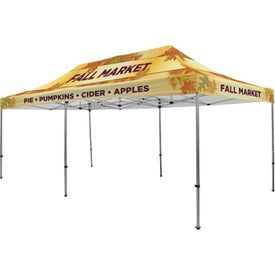 Premium Tent Kits (19.5417 Ft. x 11.6042 Ft. x 10.5625 Ft., 1 Location, Full Color Imprint)