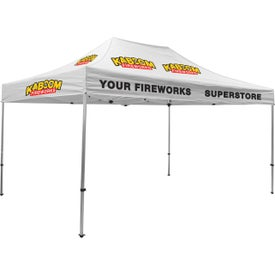 Premium Tent Kits (14.625 Ft. x 11.6042 Ft. x 10.5625 Ft., 6 Locations, White)