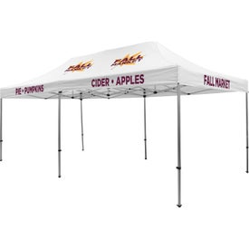 Premium Tent Kits (19.5417 Ft. x 11.6042 Ft. x 10.5625 Ft., 5 Locations, White)
