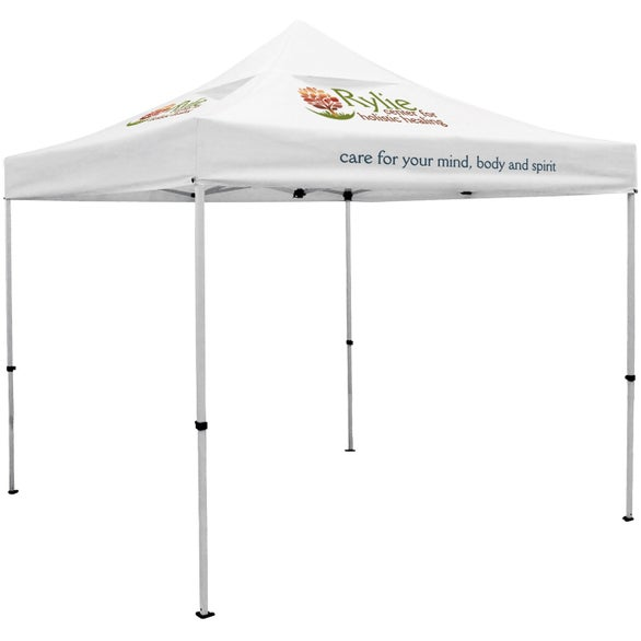 White Premium Tent Kit with Vented Canopy