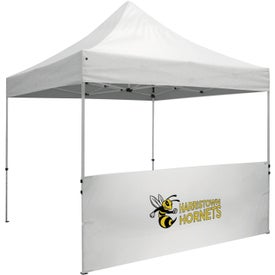 "Standard Tent Half Wall Kits (9.875 Ft. x 38"" x 2.12"", 1 Location, Black and White)"