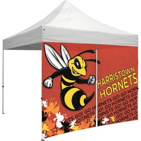 "Tent Walls with Middle Zipper (9.8542 Ft. x 84.5"", 1 Location, Full Color Imprint)"