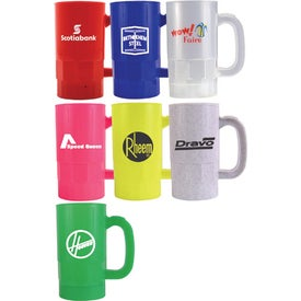 Beer Steins (14 Oz., Full Color Logo, 2 Locations)