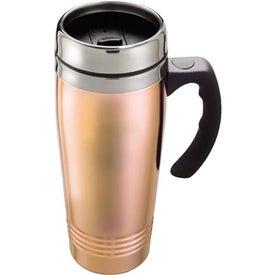 Copper/Stainless Travel Mug for Marketing