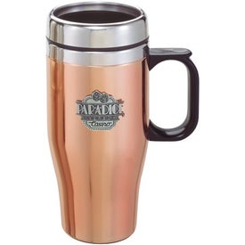 Company Customizable Copper/Stainless Travel Mug