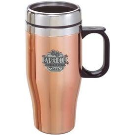 Company Customizable Copper/Stainless Travel Mug