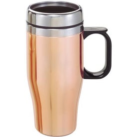 Promotional Customizable Copper/Stainless Travel Mug