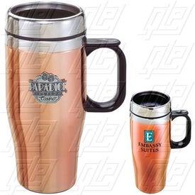 Customizable Copper/Stainless Travel Mug