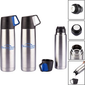 Stainless Steel Vacuum Bottle (16.5 Oz.)