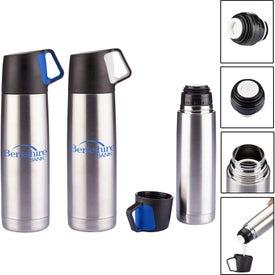 Stainless Steel Vacuum Bottle (16.5 Oz.)