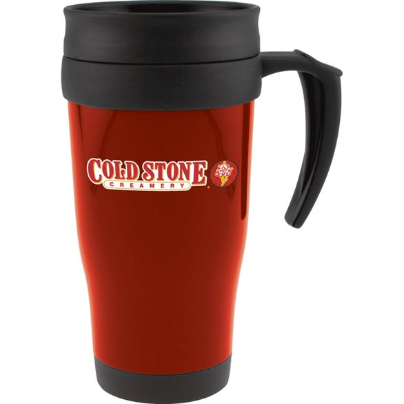 Cafe traveler mug 16 oz promotional travel mugs 2 for Thermos caffe
