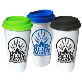 Company Plastic Tumbler with Silicone Lid