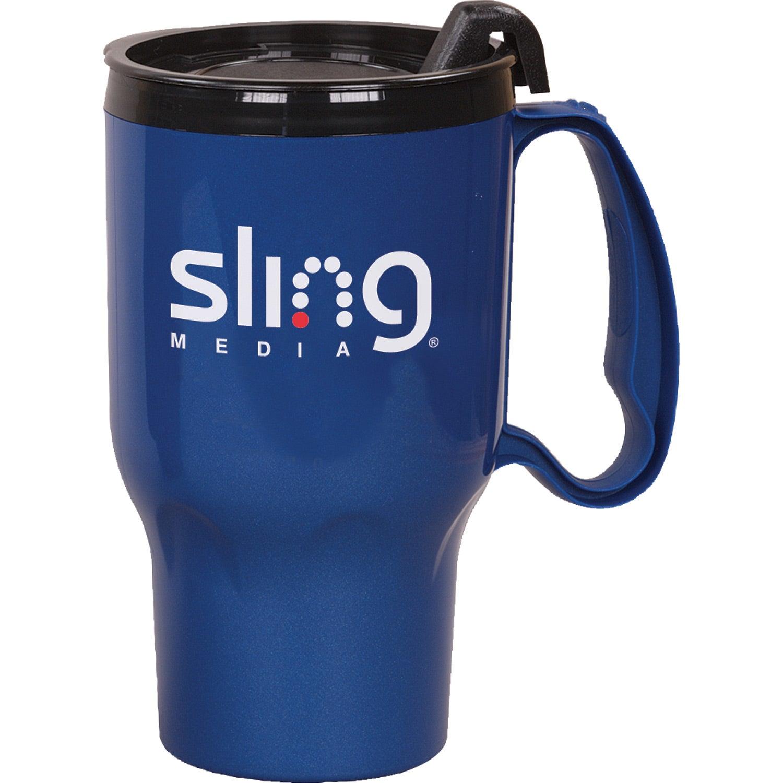 Corporate Logo Travel Mugs
