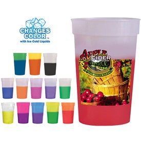 Mood Stadium Cups (17 Oz., Full Color Logo)
