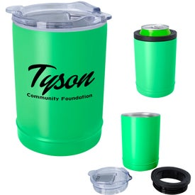 2-In-1 Copper Insulated Beverage Holder And Tumbler (11 Oz.)