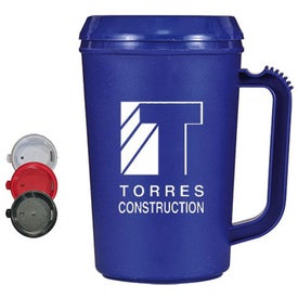 Double Wall Thermal Mug (22 Oz.)