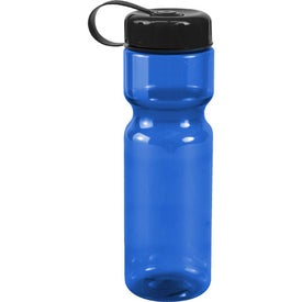 Translucent Bottle with Tethered Lid for Your Church