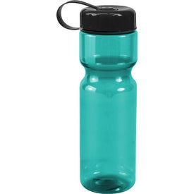 Customized Translucent Bottle with Tethered Lid