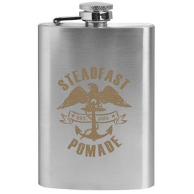 Stainless Steel Flask (4 Oz.)