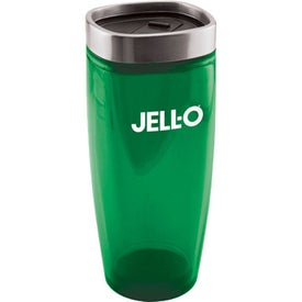 Branded Square Top Double Wall Insulated Tumbler
