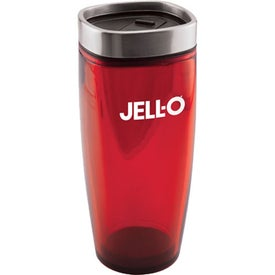 Square Top Double Wall Insulated Tumbler Imprinted with Your Logo