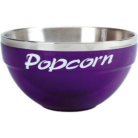 Imprinted Acrylic/Stainless Bowls