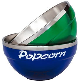 Acrylic/Stainless Bowls Printed with Your Logo