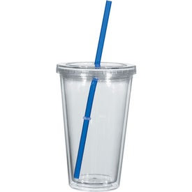 Double Wall Acrylic Tumbler With Insert Imprinted with Your Logo