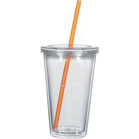 Personalized Double Wall Acrylic Tumbler With Insert