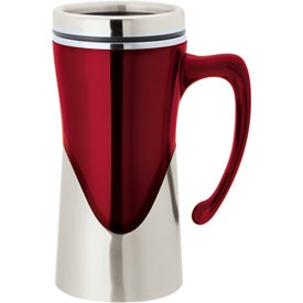 Aelius Acrylic/Stainless Steel Mug with Your Slogan