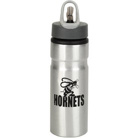 Aluminum Water Bottle with Straw for Your Organization
