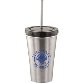 Alumni Steel Varsity Tumbler with Straw Giveaways