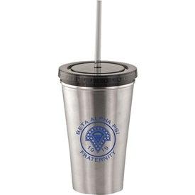 Alumni Steel Varsity Tumbler with Straw Giveaways