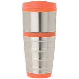 Printed Anillo Steel and PP Tumbler